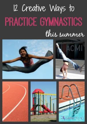practice gymnastics