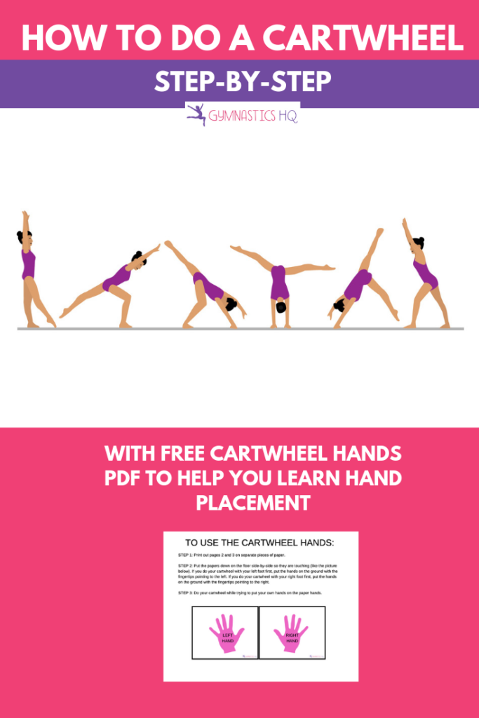 Do you want to learn how to do a cartwheel? Check out this cartwheel hands download.