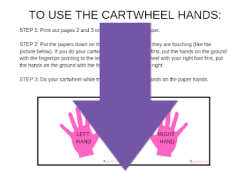 how to do a cartwheel