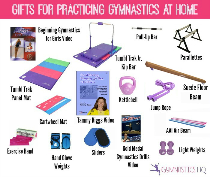 gymnastics home equipment practice gifts