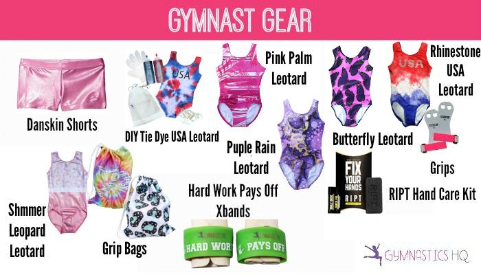 gymnast gifts gear