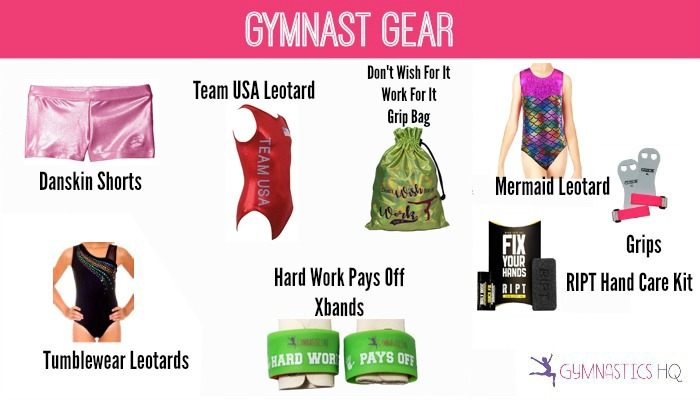 gymnast gifts leotards grip bag