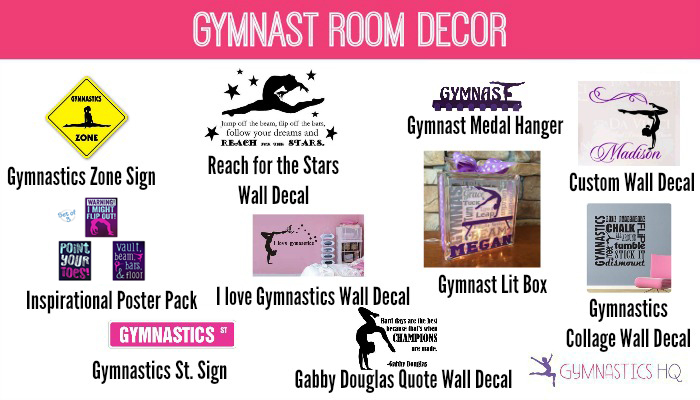 gymnast gifts for room decor