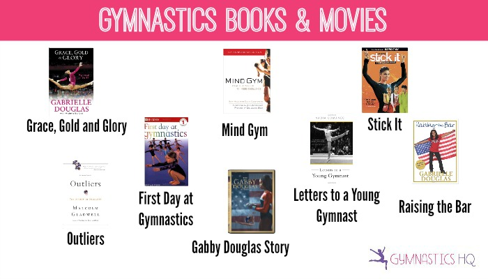 gymnastics books and movies