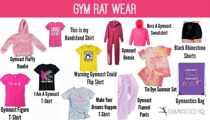 gymnastics clothing gifts shirts
