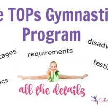 The TOPs Gymnastics Program: All the Details