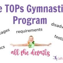 The TOPs Gymnastics Program: All the Details