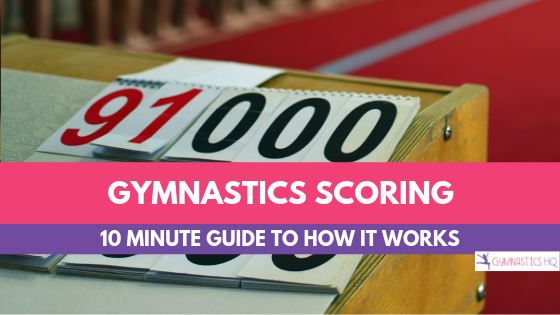 Have you ever wanted to understand Gymnastics scoring? Check out this article and learn what it all means with a free cheat sheet to scoring.