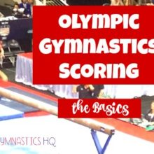 Olympic Gymnastics Scoring: The Basics