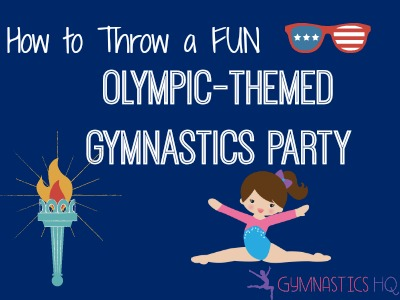 olympic themed gymnastics party