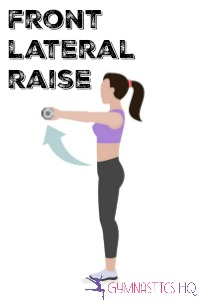 front lateral raise