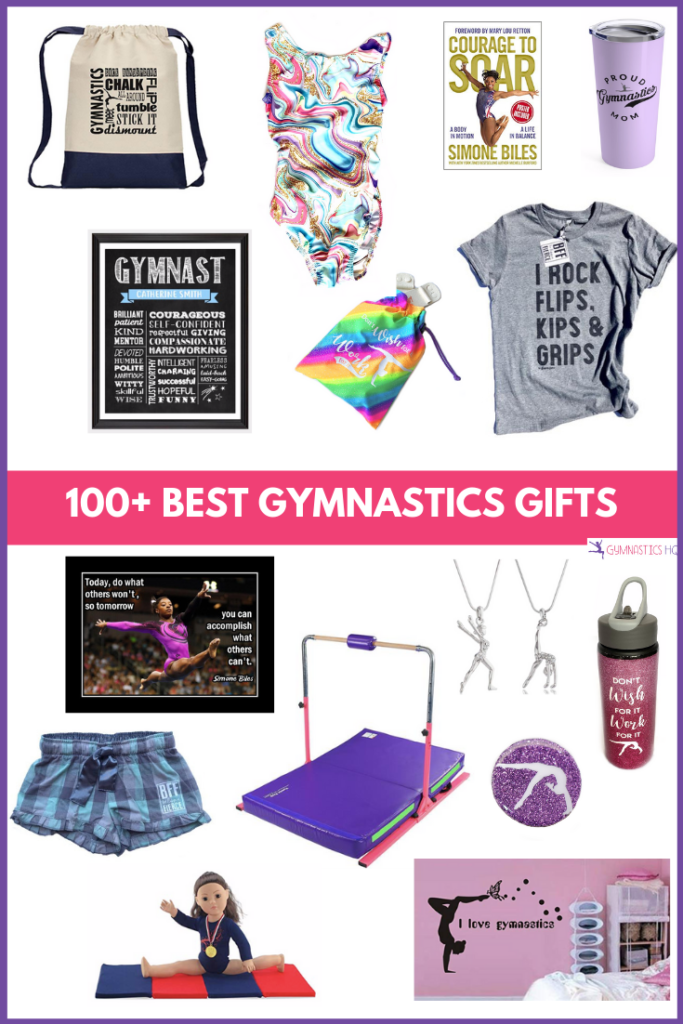 Check out this list for 100+ gymnastics gifts for your gymnastics enthusiast.