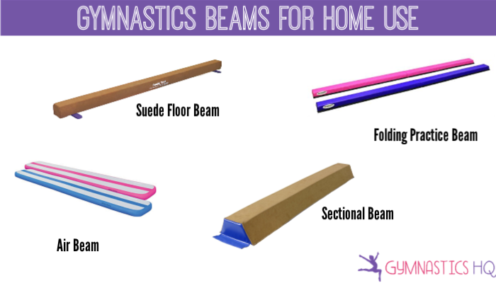 gymnastics beams for home, home gymnastics equipment, gymnastics equipment for home use, at