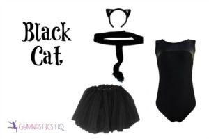 zebra halloween costume idea with gymnastics leotard
