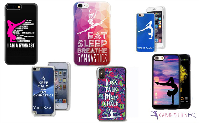gymnastics phone cases gift ideas