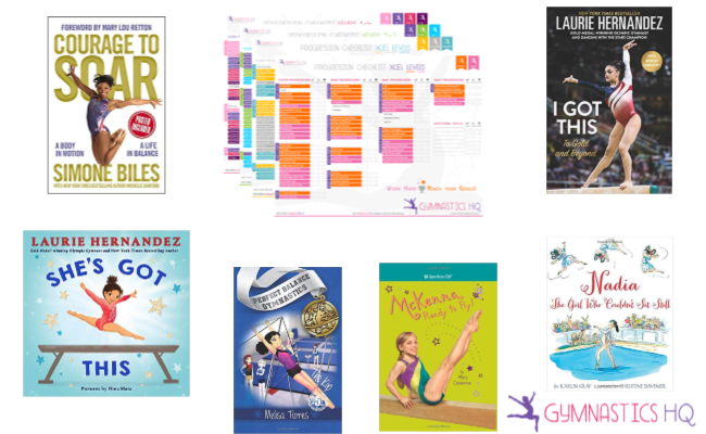 Here are some great gymnastics books for your gymnast