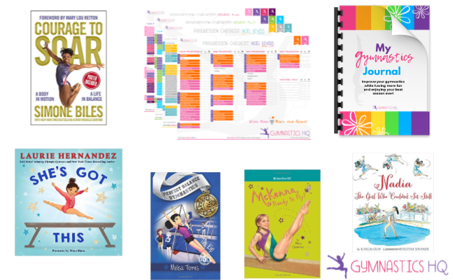 gymnast gifts books