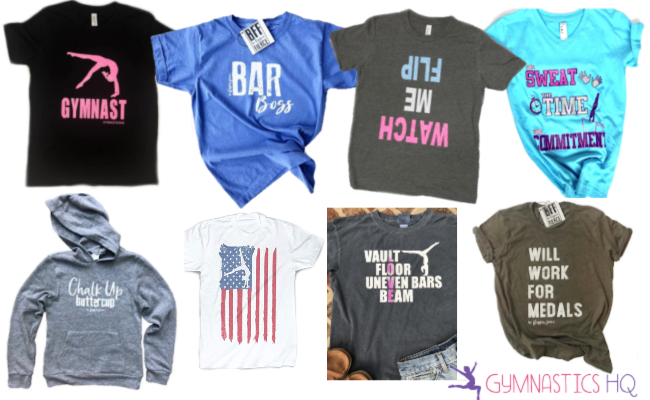 gymnast gifts shirts