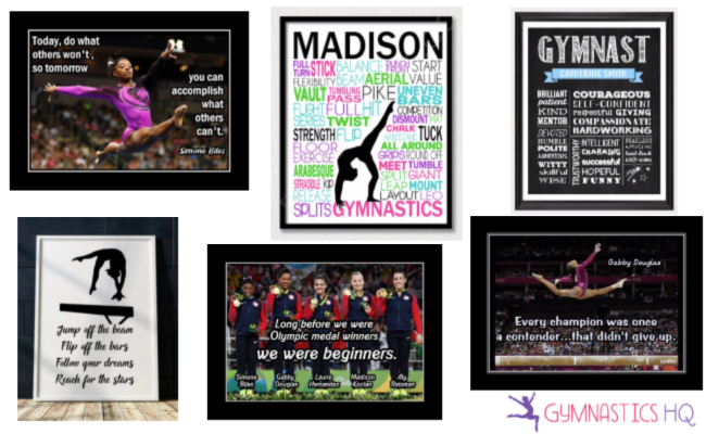 Check out these gymnastics gifts for your gymnast.