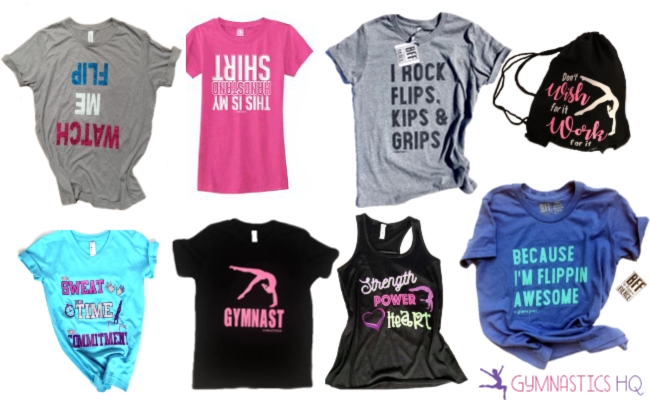 gymnastics gifts clothing
