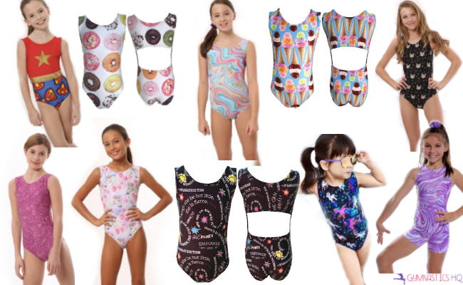 Looking for a great gymnastics gift? Check out these gymnastics leotards.