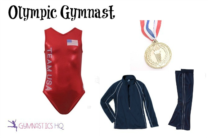 olympic gymnast halloween costume