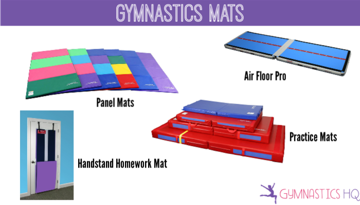 home gymnastics mats, home gymnastics equipment, at home gymnastics equipment, gymnastics equipment for