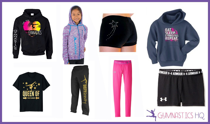 best gymnastics gifts sweatpants leggings warmups