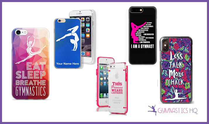gymnastics gifts cell phone case