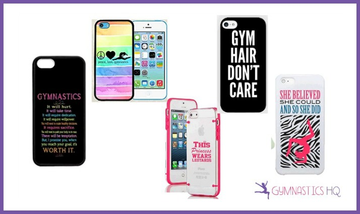 gymnastics gifts cell case