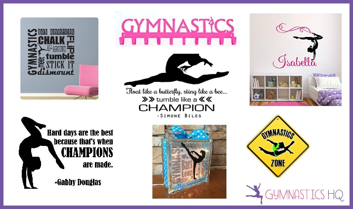gymnastics gifts home decor