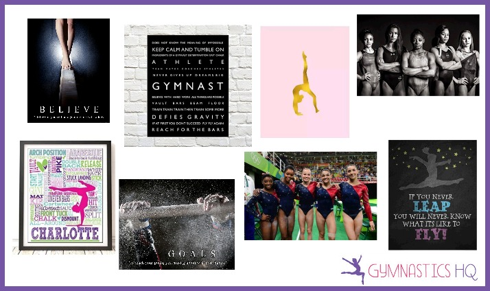 gymnastics gifts posters