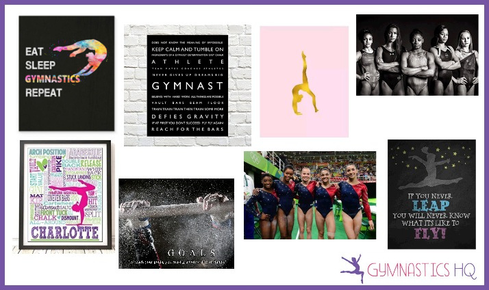 gymnsatics gifts posters