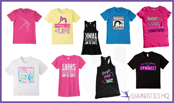 gymnastics shirts gifts idea