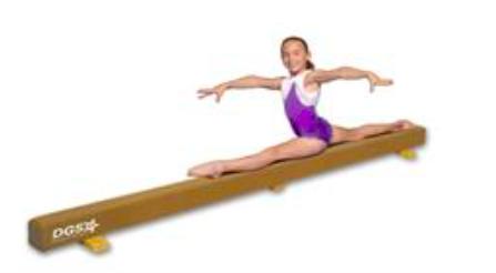 Home Gymnastics equipment, at home gymnastics equipment, gymnastics equipment for home, home balance beam, gymnasticshq.com