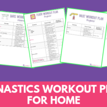 Gymnastics At Home Workout Plans