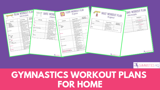 At Home Gymnastics Workout plans to help you improve in gymnastics
