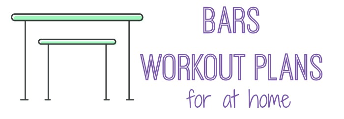 gymnastics bars workout plans