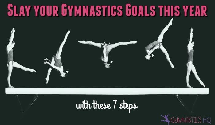 gymnastics goals 2018