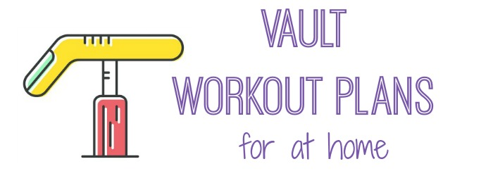 gymnastics workout plans vault