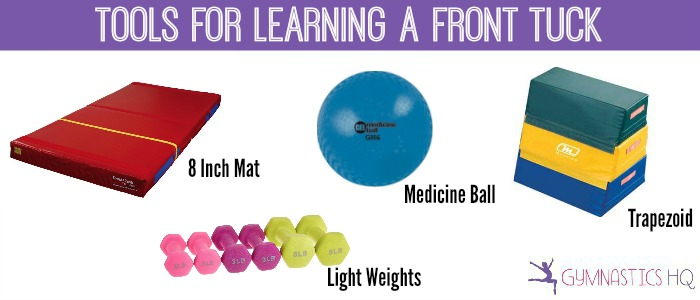 tools for learning a front tuck