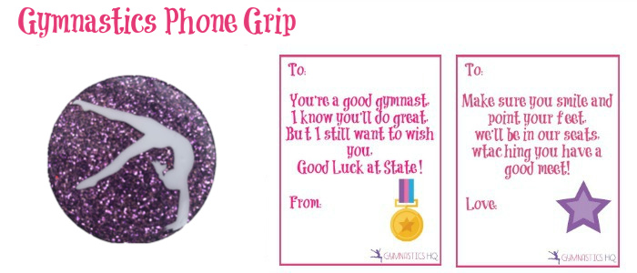 gymnastics good luck gift