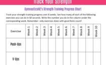 3 Ways to Track Your Gymnastics Progress {Free Downloads}