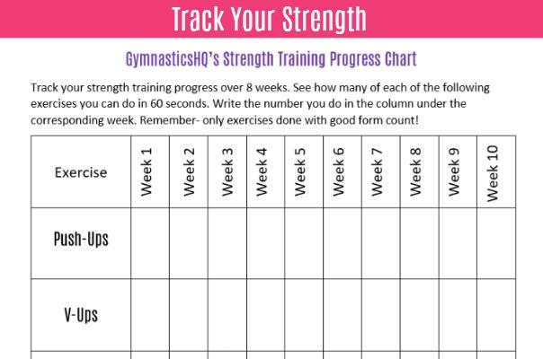 6ab1130c8ff 3 Ways to Track Your Gymnastics Progress  Free Downloads