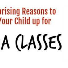 10 Surprising Reasons to Sign Your Child up for Ninja Classes