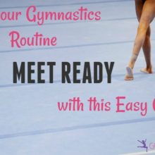 Get your Gymnastics Routine Meet Ready with this Easy Game {Free Downloadable Worksheet}