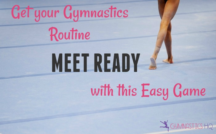 get your routine meet ready