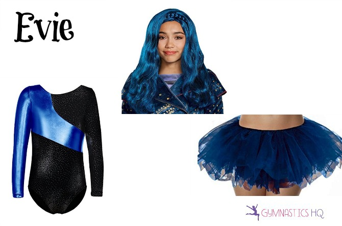 evie costume gymnastics leotard