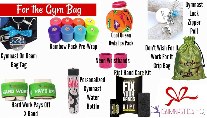 gymnastics gifts gym bag