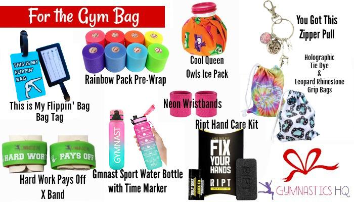 gymnastics gifts for gym bag